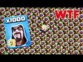 1000 Max Wizard VS 500 Max Archer Tower Amayzing Attack On COC New Server