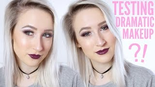 Video Attempting DRAMATIC Makeup (For The First Time...) | Sophie Louise MP3, 3GP, MP4, WEBM, AVI, FLV Januari 2018