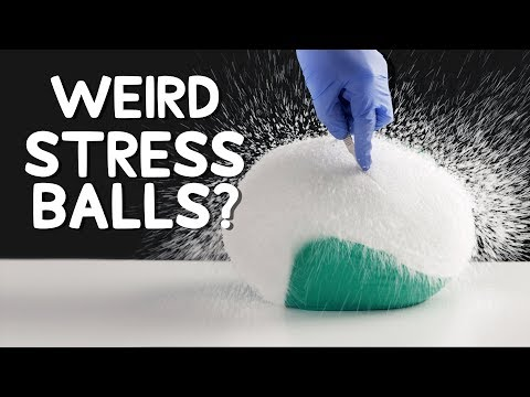 Destroying Giant Stress Balls is Oddly Satisfying