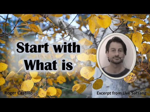 Roger Castillo Video: Start with What is