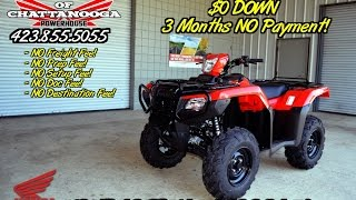 1. 2016 FourTrax Foreman RUBICON DCT + EPS ATV For Sale - TN / GA / AL area : Honda of Chattanooga
