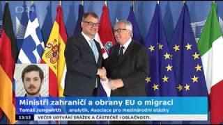 Výsledky víkendového setkání lídrů EU k migraci