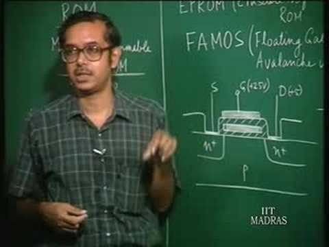 Lecture 36  ROM-EPROM,EEPROM and Flash EPROM