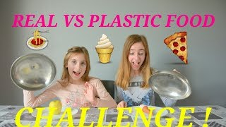Video REAL FOOD VS PLASTIC FOOD CHALLENGE - VRAIE NOURRITURE OU NOURRITURE EN PLASTIQUE  ? MP3, 3GP, MP4, WEBM, AVI, FLV Oktober 2017