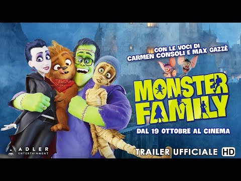 Preview Trailer Monster Family, trailer ufficiale italiano