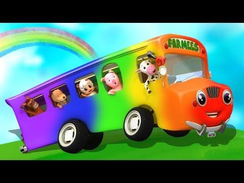 Räder auf dem Bus | Kinderreime auf Deutsch | Kinderlied | Busreim | The Wheels On The bus