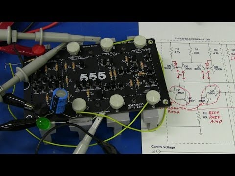 555 - Dave celebrates the classic 555 timer IC by building the Evil Mad Scientist