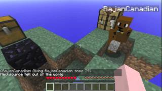 SKYBLOCK FAILING! With BajanCanadian and Hippoioqqih Part 3