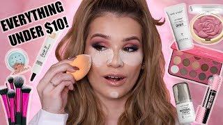 Video FULL FACE NOTHING OVER $10!   AFFORDABLE Makeup Tutorial MP3, 3GP, MP4, WEBM, AVI, FLV Juli 2018