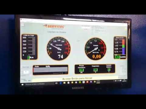 Daytona 675i no dino - inauguração BSB Racing