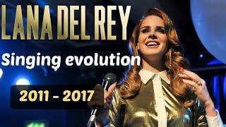 Lana Del Rey Singing Evolution (2011-2017)