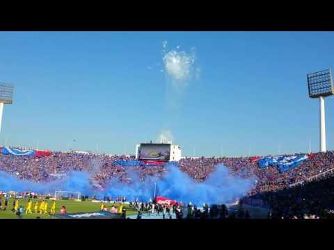 Salida UNIVERSIDAD DE CHILE vs San Luis de Quillota - Los de Abajo - Universidad de Chile - La U
