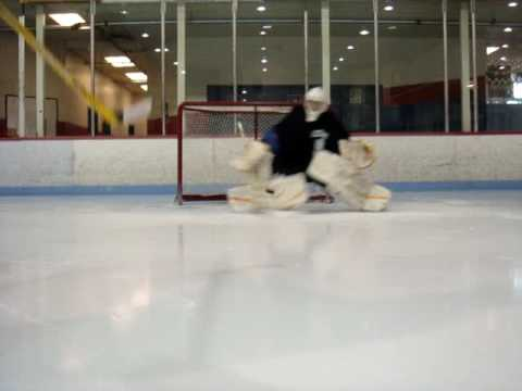 Goalie Drill and Bail