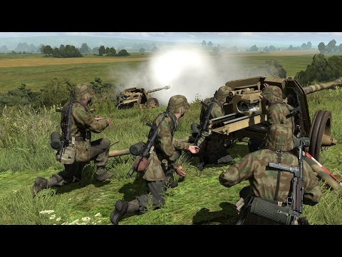 Most Truthful Game About World War 2 On The PC ! Simulator Iron Front 1944