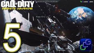 CALL OF DUTY Infinite Warfare Walkthrough - Part 5 - Campaign: Operation Port Armor Shipping Storage