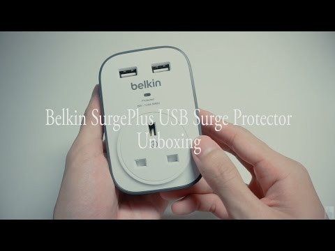 Belkin SurgePlus USB Surge Protector Unboxing