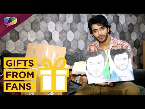 Vikram Singh Chauhaan Receives Gifts From His Fans
