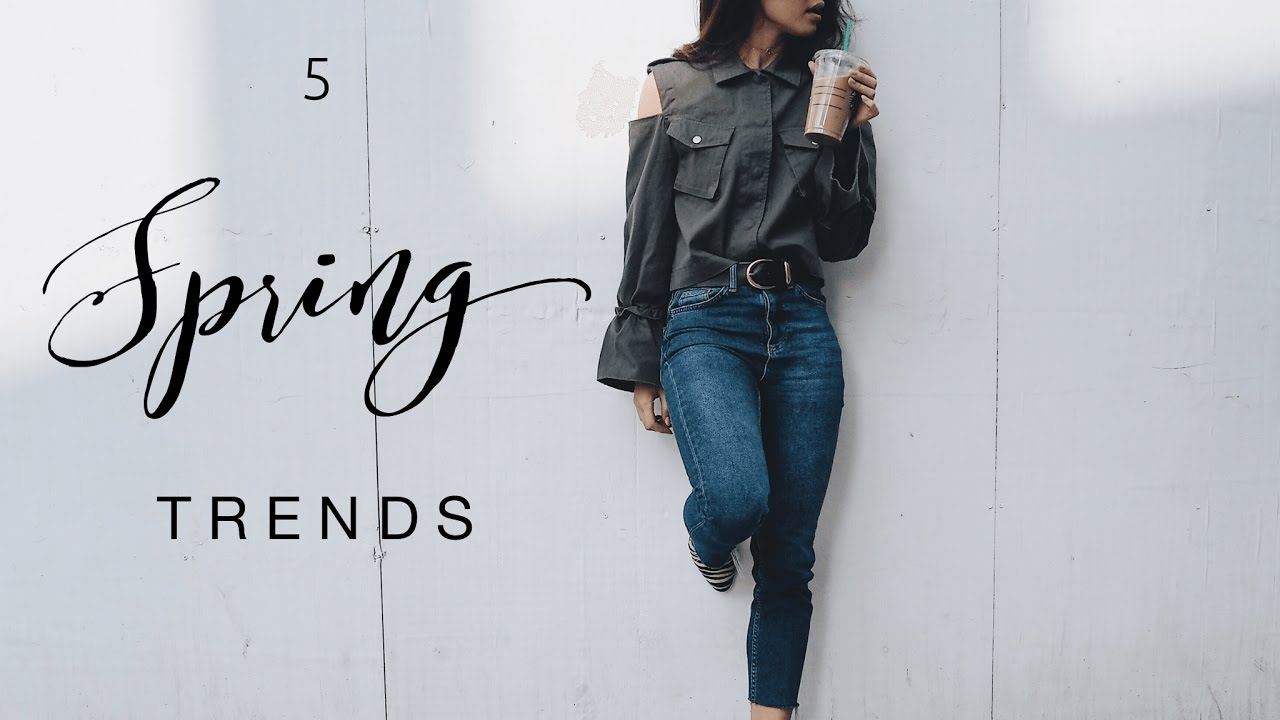 5 SPRING TRENDS TO WEAR NOW! | DANIELLE PEAZER