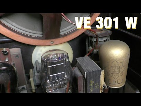 Telefunken VE301 W Volksempfänger - Radiotechnik e ...