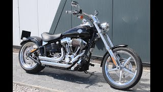 10. 2009 HARLEY-DAVIDSON ROCKER C | BLACK | VANCE & HINES PIPES @ WCHD, Glasgow, Scotland