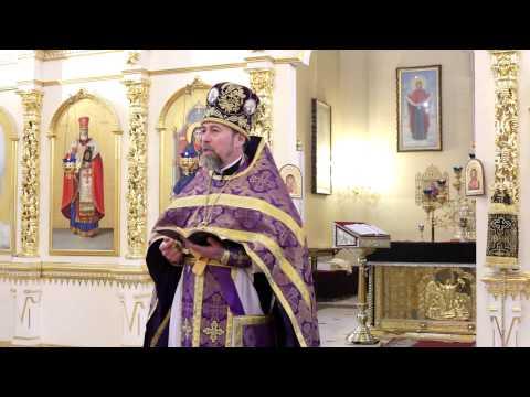 2015.03.29 - Олег Семенчук - Последнее воскресение Великого поста