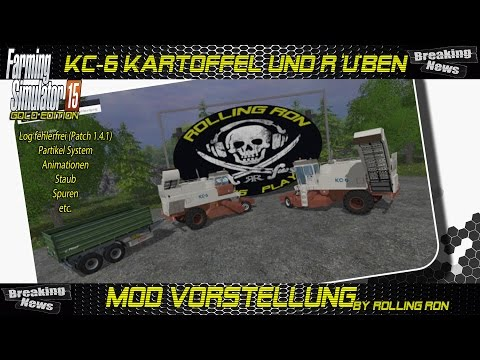Potatoes harvester KC-6 Beta