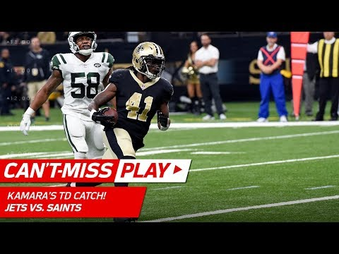 Video: Alvin Kamara Makes Huge Plays on TD Drive vs. NY! | Can't-Miss Play | NFL Wk 15 Highlights