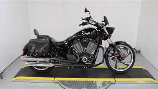 6. Used 2014 Victory Motorcycles® Vegas 8-Ball® Gloss Black For Sale At Brian's HD