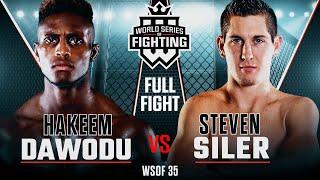 Video #WSOF35: Hakeem Dawodu vs Steven Siler Full Fight MP3, 3GP, MP4, WEBM, AVI, FLV Oktober 2018