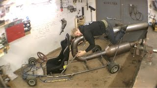 Making a Jet Powered Go-Kart Part 1 - Chassis