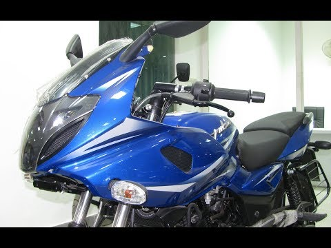 Video 2018 Bajaj Pulsar 220F Nuclear Blue Walkaround Review   Exhaust, Features,etc download in MP3, 3GP, MP4, WEBM, AVI, FLV January 2017