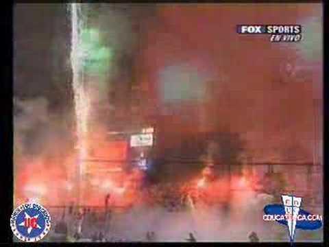 salida uc vs corinthians libertadores 2006 - Los Cruzados - Universidad Católica