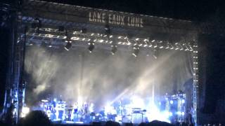 "Bon Iver ""Skinny Love"" To Close Eaux Claires Festival 7-18-2015"
