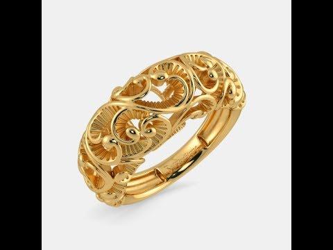 GOLD FINGER RING FOR WOMEN, GOLD JEWELLERY ONLINE