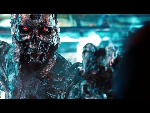 John Connor vs T-800 (Final fight) | Terminator Salvation [Open matte]