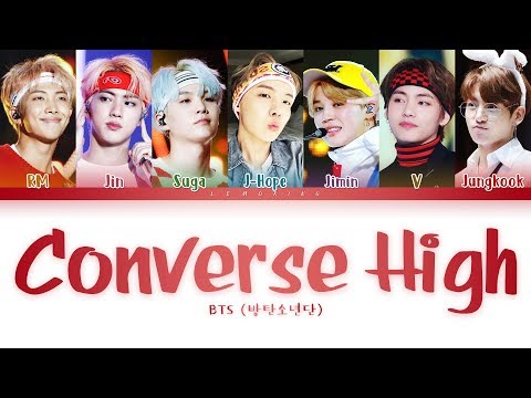 BTS - Converse High (방탄소년단 - Converse High) [Color Coded Lyrics/Han/Rom/Eng/가사]