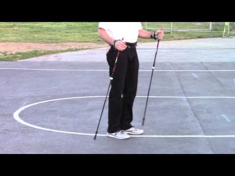 "Nordic Walking - ""How to"" with LEKI poles"
