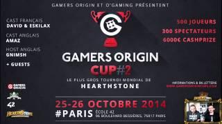 Gamers Origin Cup #2 : dernière ligne droite !