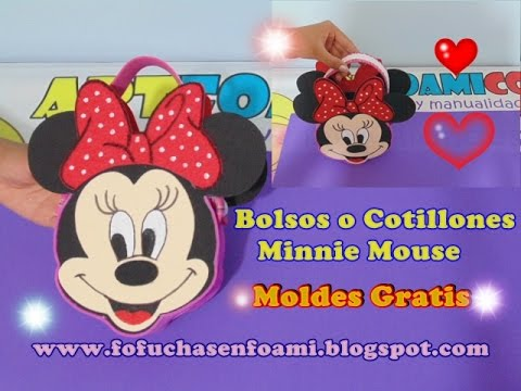 foamy - come realizzare una borsetta di minnie