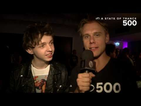 ASOT 500 Video Report – Armin van Buuren interviews Arty