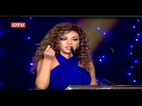 ميريام - OTV Awards Best Performer Myriam Fares 2013 ميريام فارس تفوز بجائزة النجمه الاستعراضيه لعام 2013.