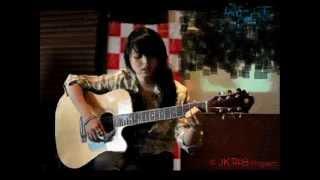 JKT48 Futari Nori no Jitensha [2人乗りの自転車] (lirik) cover acoustic