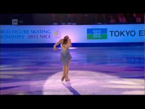 Figure Skating - Ashley Wagner - Closing Gala - 2012 World Figure Skating Championships in Nice Nizza France.