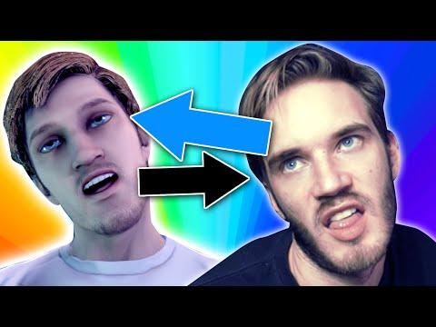 I'M IN A VIDEOGAME!!! // FaceRig