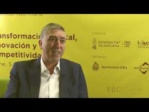 El Conseller de Economía, Rafael Climent en Focus Pyme CV 2019