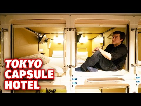 What It s Like to Stay at a Japanese Capsule