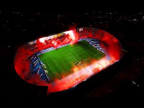 La increíble salida del América de Cali Vs Junior 3-1 Liga Águila 2017 - Baron Rojo Sur - América de Cáli