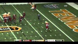 Justin Hunter vs NC State (2012)