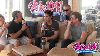 Pat Monahan of Train talked with Gregg Daniels & Fast Freddy at the Mix Beach House