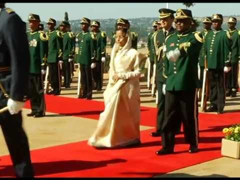 State Visit to South Africa by President of India, Pratibha Devisingh Patil